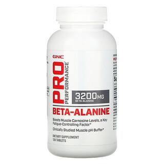 GNC, Pro Performance,β-丙氨酸,3200 毫克,120 片