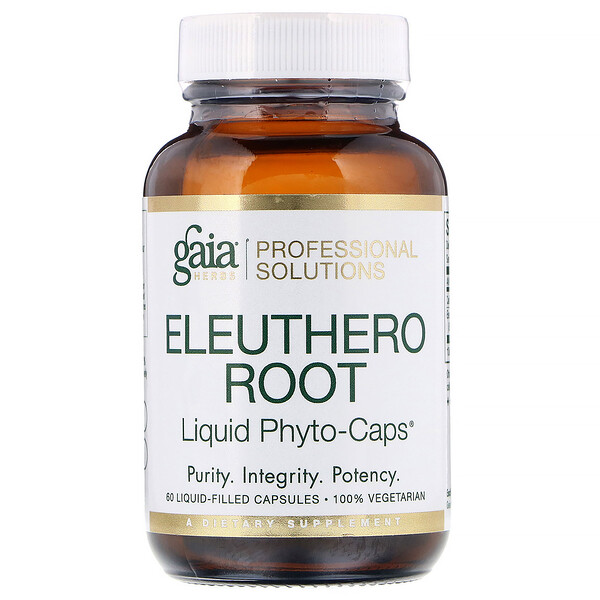 Eleuthero Root, 60 Liquid-Filled Capsules