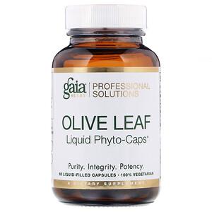 Gaia Herbs Professional Solutions, Olive Leaf, 60 Liquid-Filled Capsules отзывы