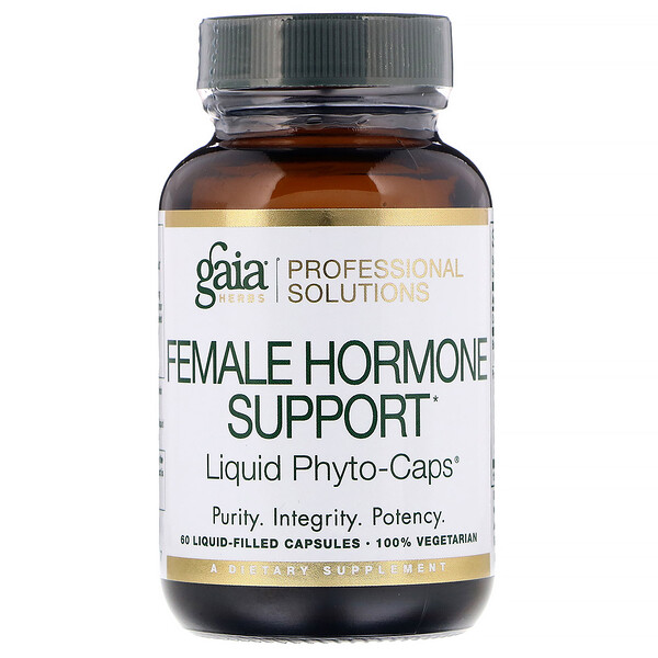 Female Hormone Support, 60 Liquid-Filled Capsules