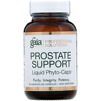 Gaia Herbs Professional Solutions, Prostate Support, 60 Liquid-Filled Capsules