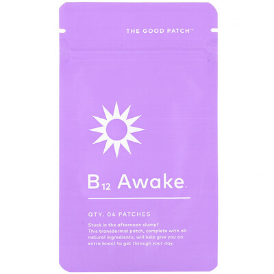 The Good Patch B12 Awake, 4 Patches