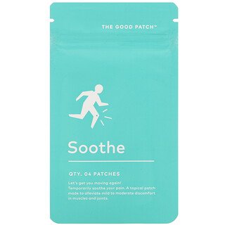 The Good Patch, Soothe,  4 Patches