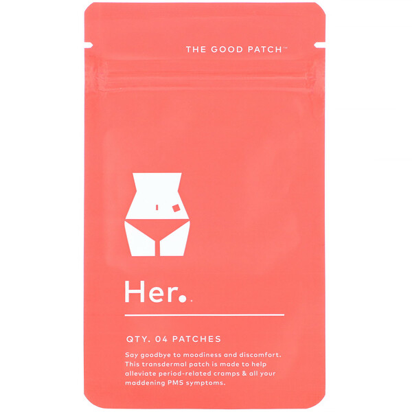 The Good Patch, Her, 4 Patches (Discontinued Item)