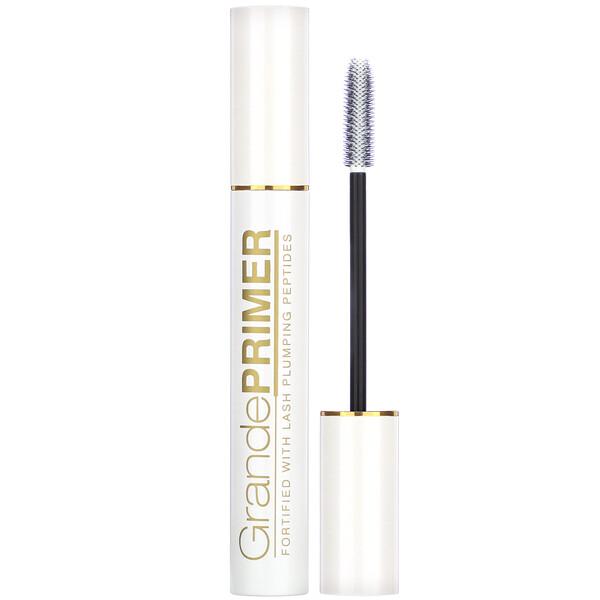 Grande Cosmetics, GrandePrimer, Pre-Mascara Micro Fiber Formula, White, 0.34 oz (9.5 g) (Discontinued Item)