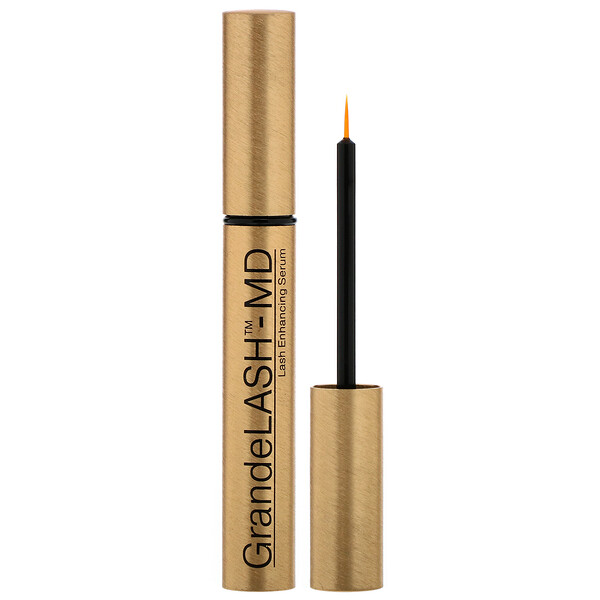 Grande Cosmetics, GrandeLash-MD, Enhancing Serum, .067 oz (2 ml) (Discontinued Item)