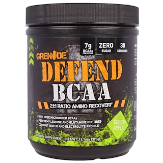 Grenade, Defend BCAA, Green Apple, 13.76 oz (390 g)