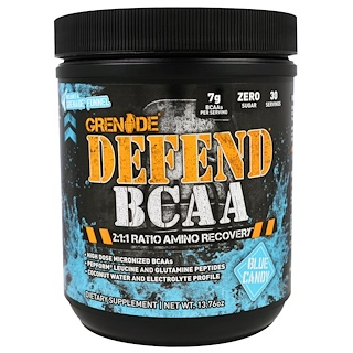 Grenade, Defend BCAA, Blue Candy, 13.76 oz (390 g)