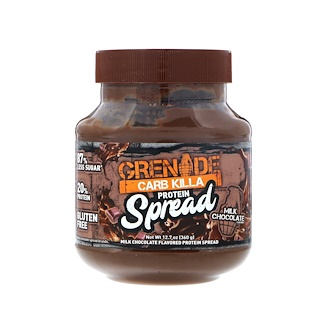 Grenade, Carb Killa Protein Spread, Milk Chocolate, 12.7 oz (360 g)