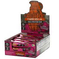 Grenade, Carb Killa,高蛋白棒,黑色巧克力樹莓,12 根,每根 2.12 盎司(60 克)