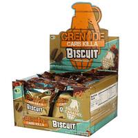 Grenade, Carb Killa, Biscuit, Salted Caramel, 12 Bars, 21.1 oz (600 g)