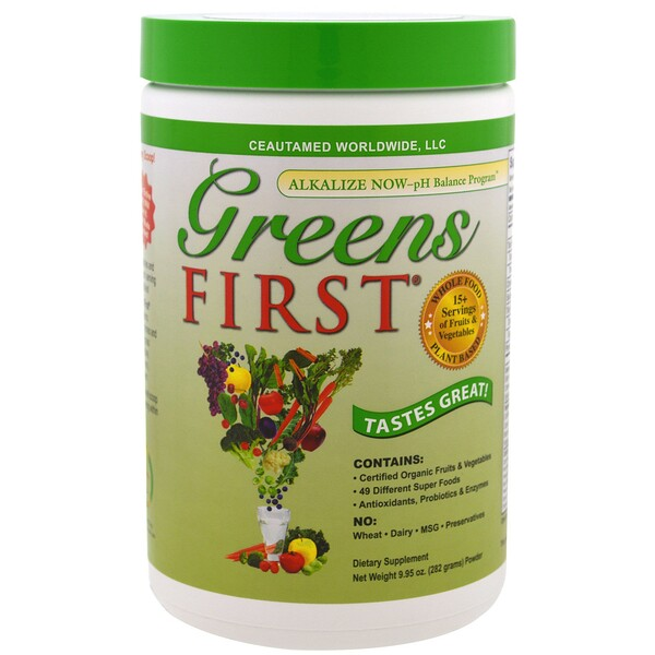 Greens First, Superfood Antioxidant Shake, Original, 9.95 oz (282 g)