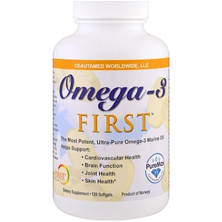 Greens First, Omega-3 First, 120 Softgels