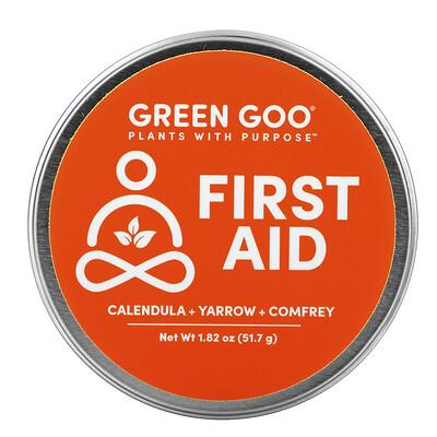 Купить Green Goo First Aid Salve, 1.82 oz (51.7 g)