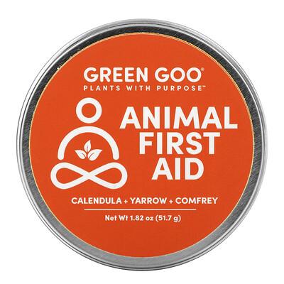 Купить Green Goo Animal First Aid Salve, 1.82 oz (51.7 g)