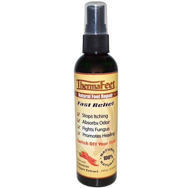 Greensations, ThermaFeet, Natural Foot Repair, 4 fl oz (120 ml) (Discontinued Item)
