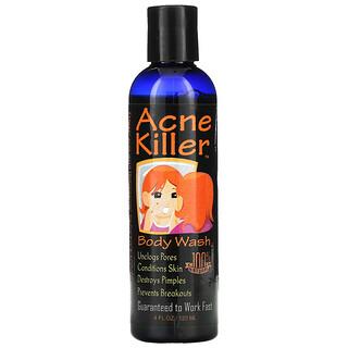 Greensations, Acne Killer, Body Wash, 4 fl oz (120 ml)