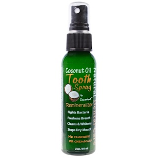 Greensations, Spray para os Dentes com Óleo de Coco, 60 ml
