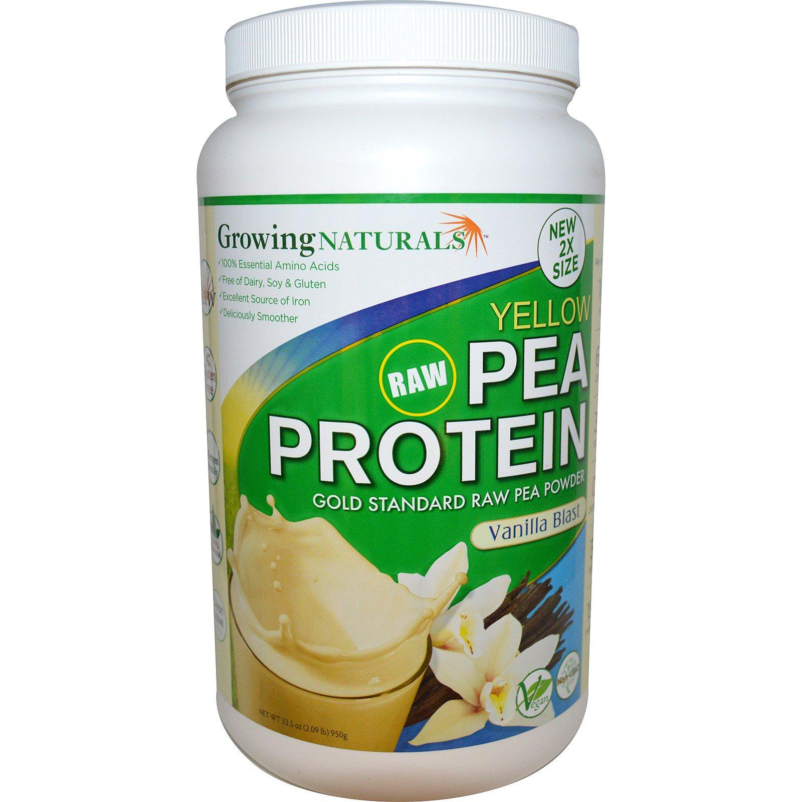 Pea protein vanilla