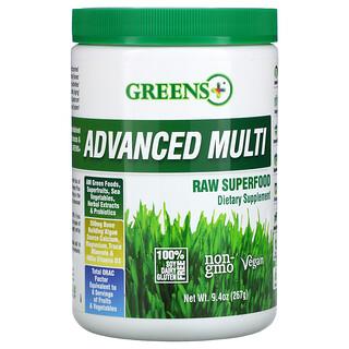 Greens Plus, усовершенствованные суперфуды из необработанных продуктов, 267г (9,4унции)