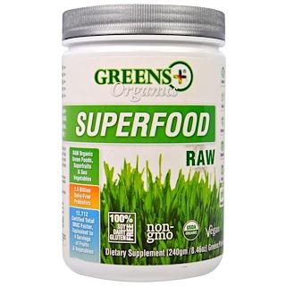 Greens Plus, 올가닉스 수퍼푸드, 생, 8.46 온스 (240 g)