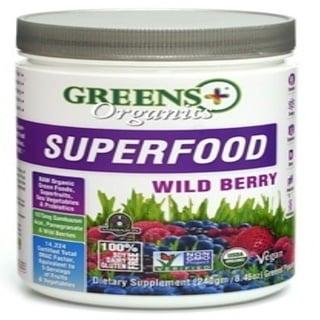 Greens Plus, Organics Superfood, 야생 베리, 8.46 oz (240 g)