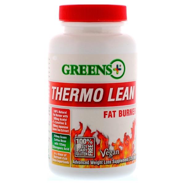 Greens Plus, Диетическая добавка Thermo Lean, 120 вегетарианских капсул (Discontinued Item)