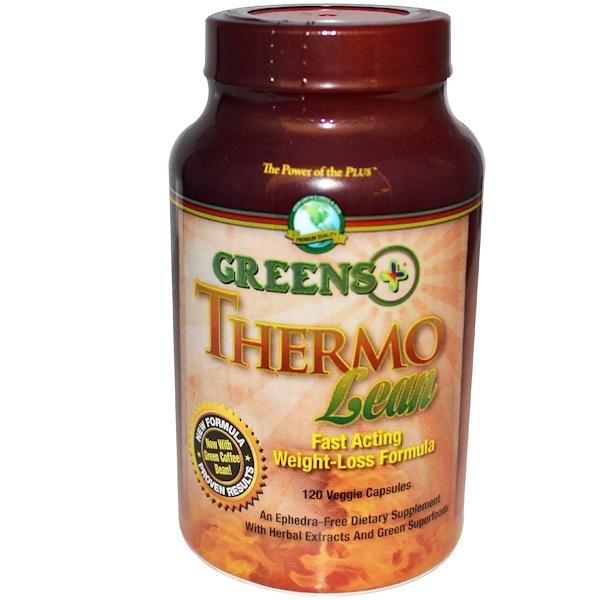 Greens Plus, Thermo Lean, 120 Veggie Caps