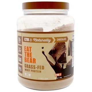 Eat the Bear, Grass-Fed Whey Protein, Chocolate, 1.62 lbs (735 g)