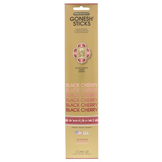 Gonesh, Extra Rich Incense Sticks, Black Cherry, 20 Sticks