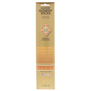 Gonesh, Extra Rich Incense Sticks, Pumpkin Spice, 20 Sticks отзывы