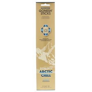 Gonesh, Varillas de incienso extra rico, frío ártico, 20 varillas