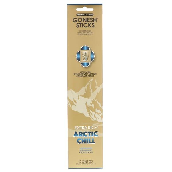 Gonesh, Varillas de incienso extra rico, frío ártico, 20 varillas (Discontinued Item)