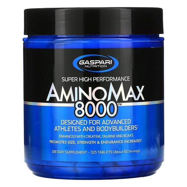 Gaspari Nutrition, BCAA 6000™, 180 錠 (Discontinued Item)