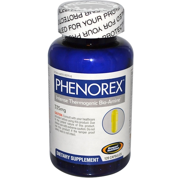 Gaspari Nutrition, Phenorex, Thermogenic, 120 Capsules (Discontinued Item)