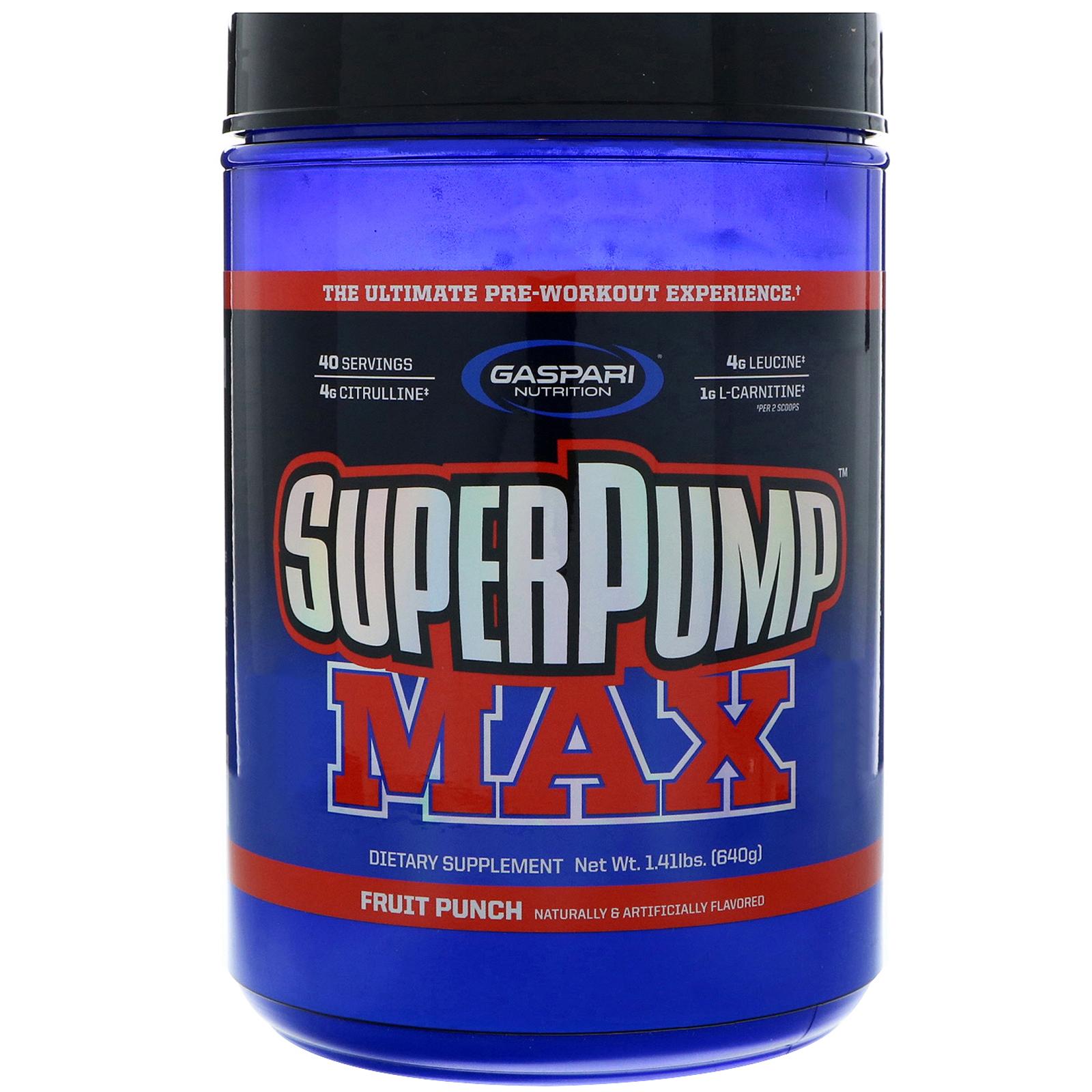 Gaspari Nutrition, SuperPump ماكس، مكمل غذائي مميز ...