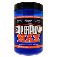 SuperPump Max, лучшая добавка для приема перед тренировкой, освежающий апельсин, 1,41 кг (640 г) - фото
