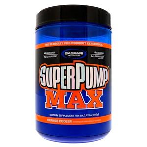 Гаспари Нутришэн, SuperPump Max,  Refreshing Orange, 1.41 lbs (640 g) отзывы покупателей