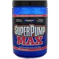 SuperPump Max, лучшая добавка для приема перед тренировкой, розовый лимонад, 1,41 фунта (640 г) - фото