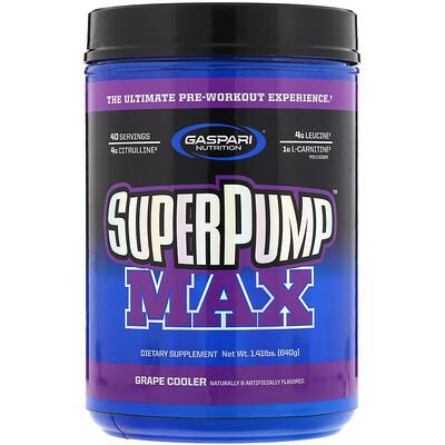 Фото - SuperPump Max, уникальная предтренировочная добавка, «Виноградный лимонад», 640г (1,41 фунта) n o xplode легендарная предтренировочная добавка голубая малина 555 г 1 22 фунта