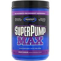 SuperPump Max, универсальная предтренировочная добавка, виноградный лимонад, 640г - фото