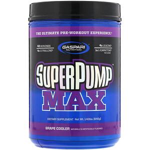 Гаспари Нутришэн, SuperPump Max, Grape Cooler, 1.41 lbs (640 g) отзывы покупателей