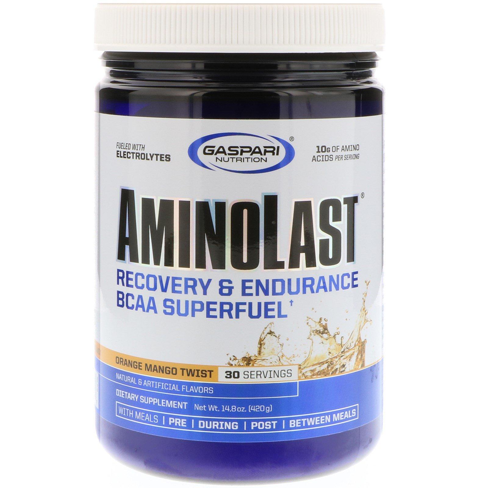 Gaspari Nutrition, Aminolast, Recovery