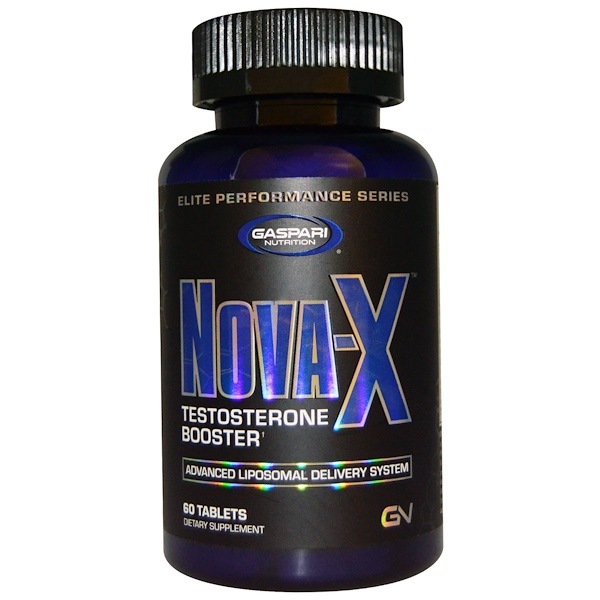 Gaspari Nutrition, Nova-X, Testosterone Booster, 60 Tablets (Discontinued Item)