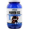 Gaspari Nutrition, Proven Egg, 100% Egg White Protein, Chocolate, 2 lb (900 g)