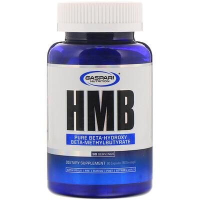 Купить Gaspari Nutrition HMB (гидроксиметилбутират), 90капсул