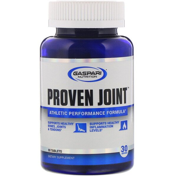 Gaspari Nutrition, Proven Joint, נוסחה לביצועים אתלטיים, 90 טבליות
