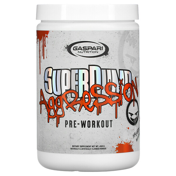 SuperPump Aggression Pre-Workout, Mayhem Mango , 450 g