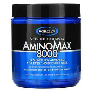 Gaspari Nutrition, AminoMax 8000, 325 Tablets