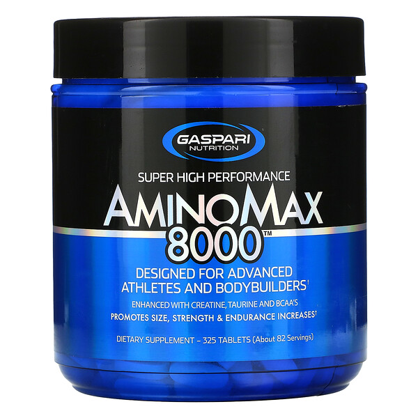 Gaspari Nutrition, AminoMax 8000, 325 Tablets